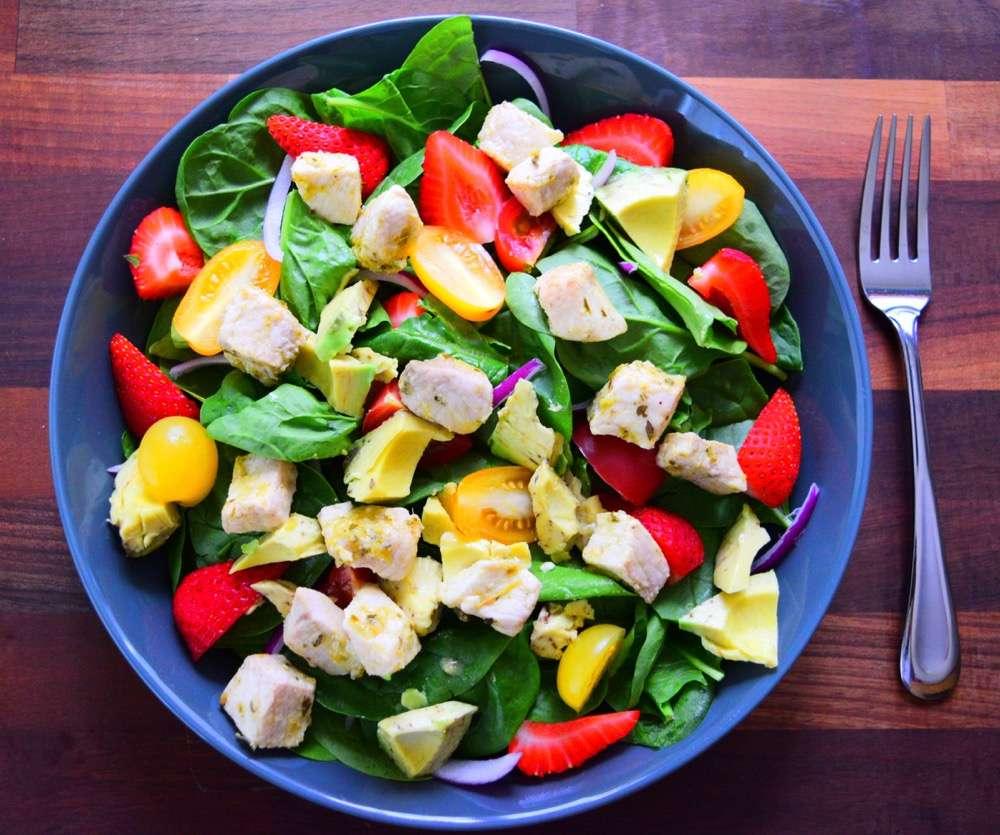 Swordfish salad