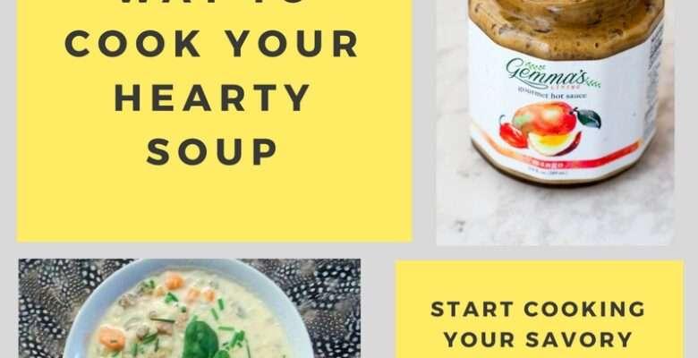 hearty soup board