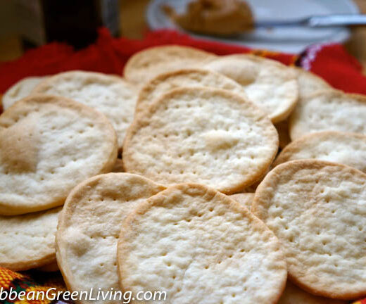 Homemade Haitian Crackers