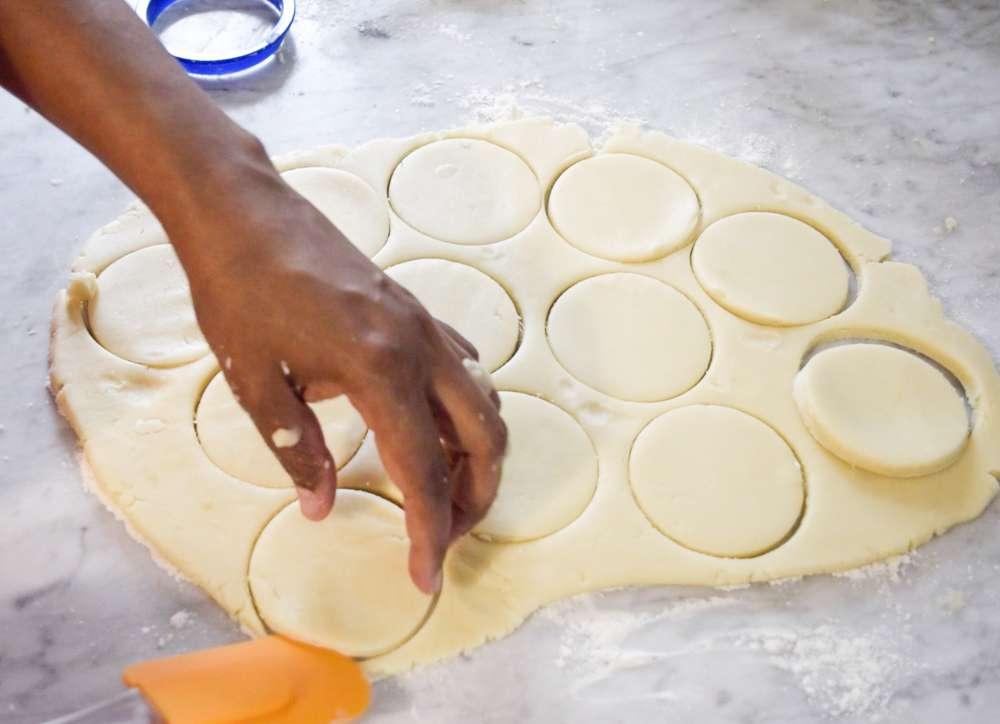 Making Tapioca Cookies