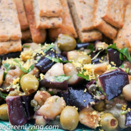 Eggplant with Lemon and Capers 3