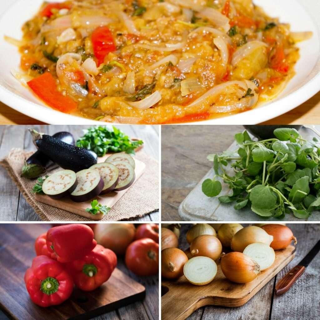 Eggplant Stew Ingredients