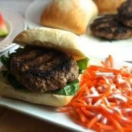 tasty juicy beef burger 1