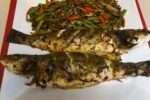 Baked Branzino with Herbs