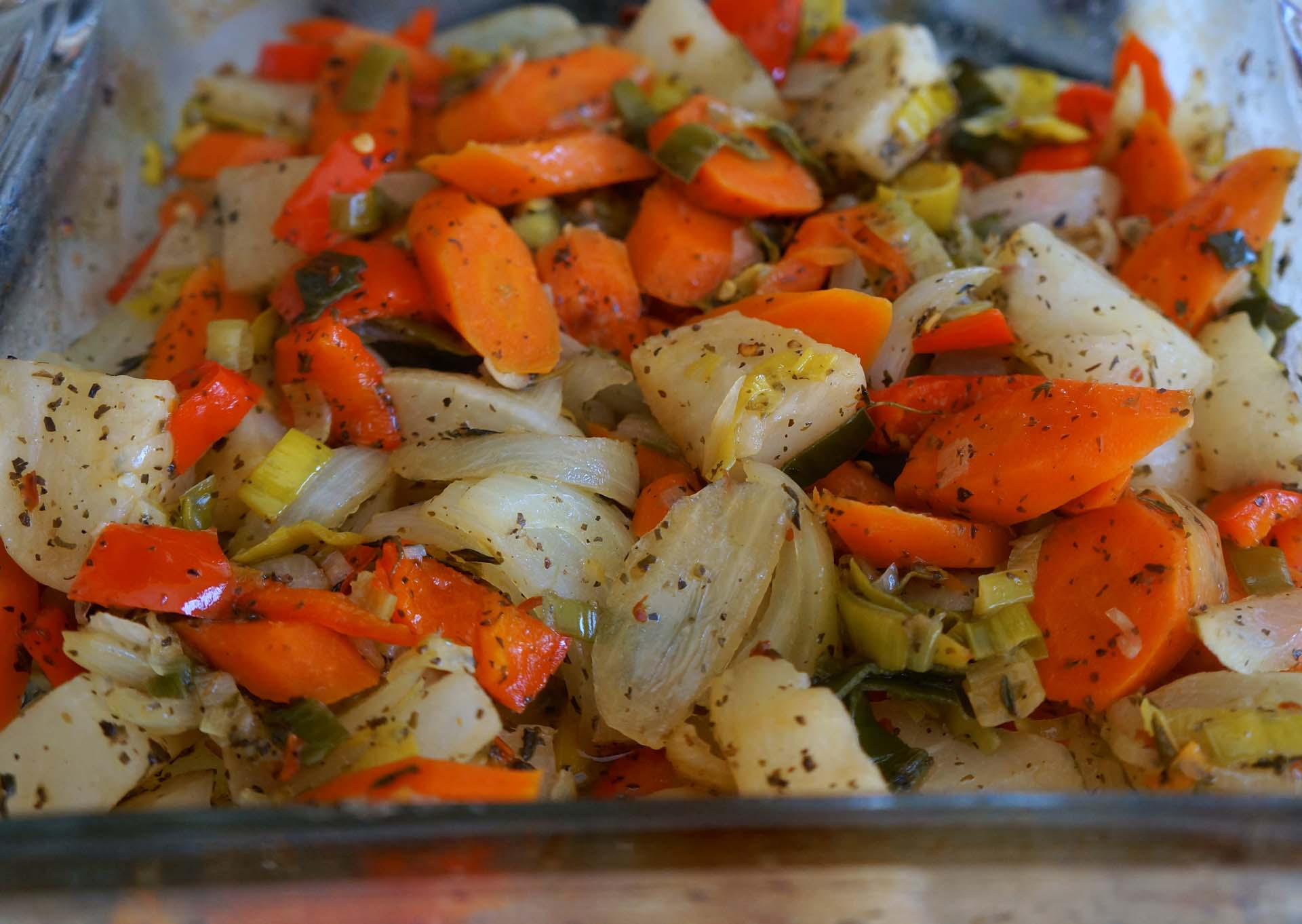 Baked Carrots and Parsnips