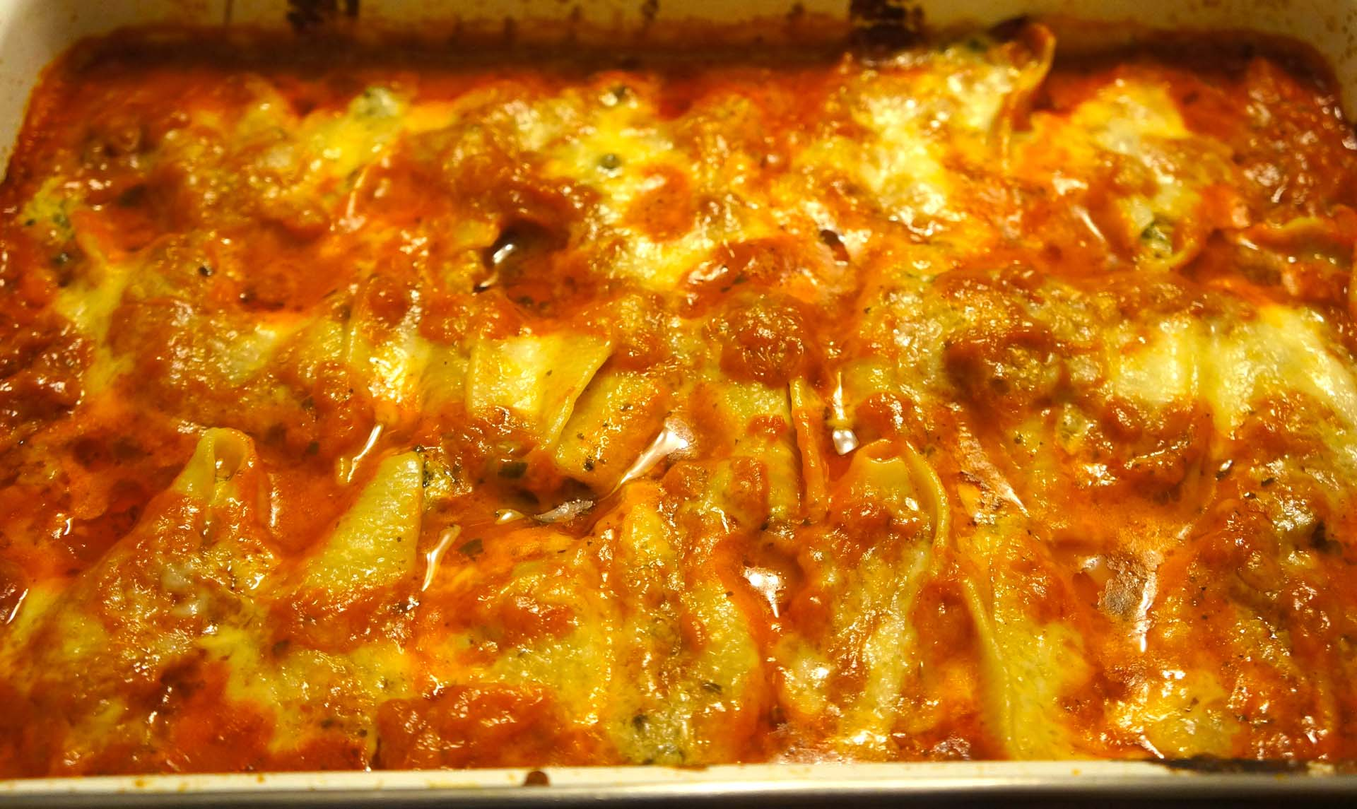 Baked Stuffed Shells with Portobello Mushrooms