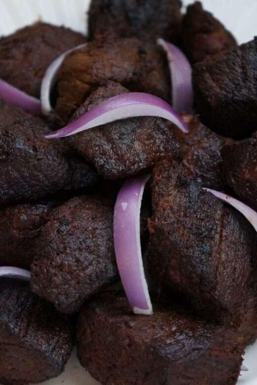 Tassot Boeuf/Beef tassot/Fried Beef BIts