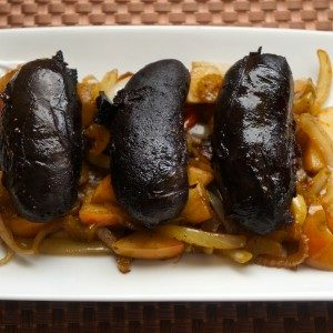 Boudin aux Pommes (Blood Sausage with Apples)