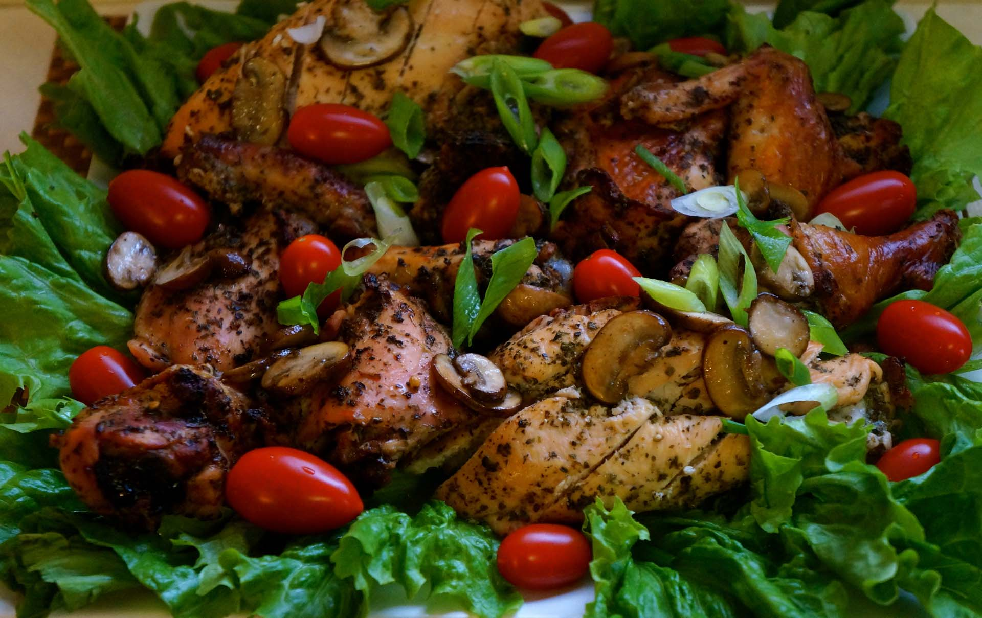 Chicken with Lime and Herbs
