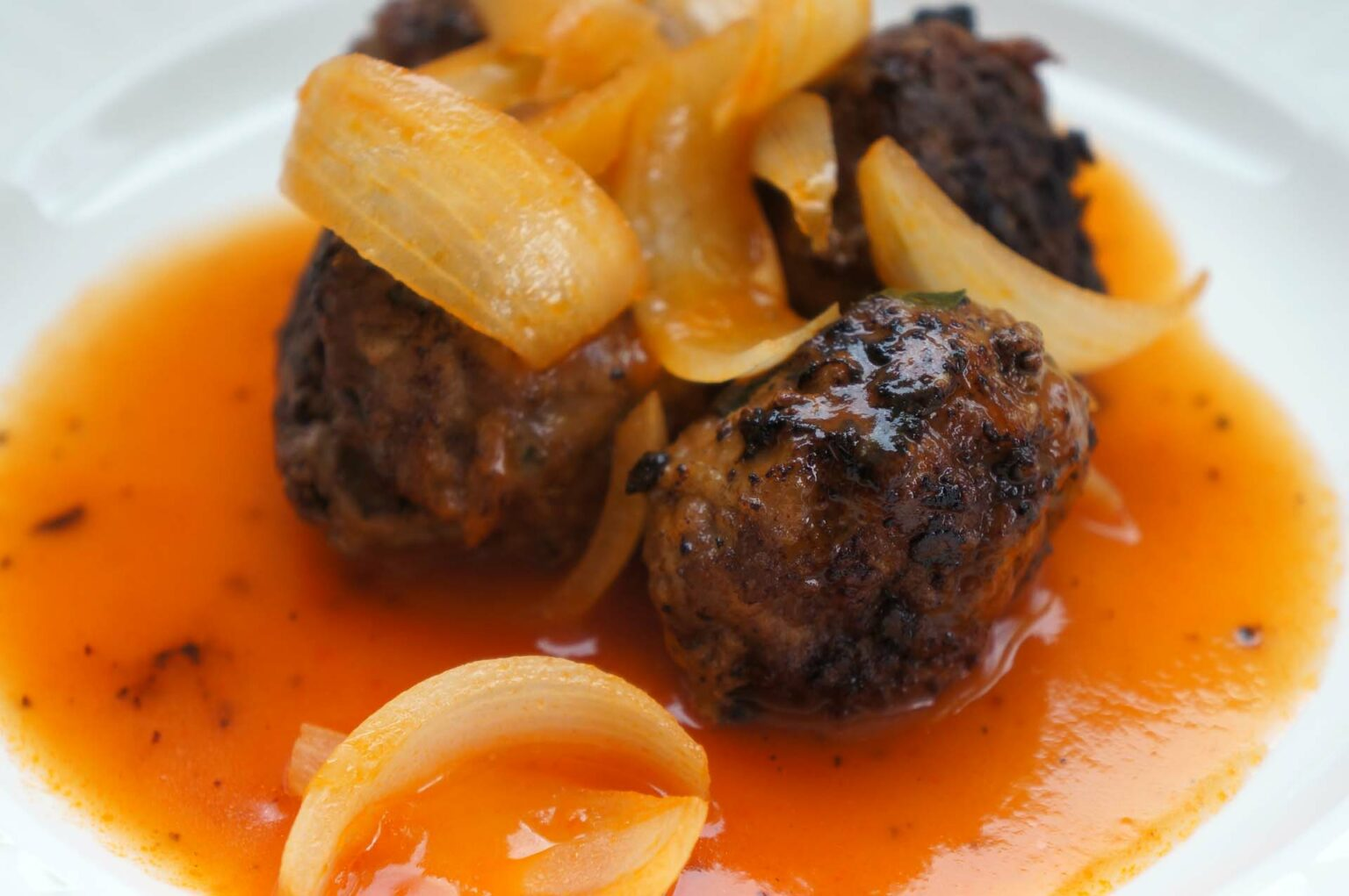 Haitian Meatballs