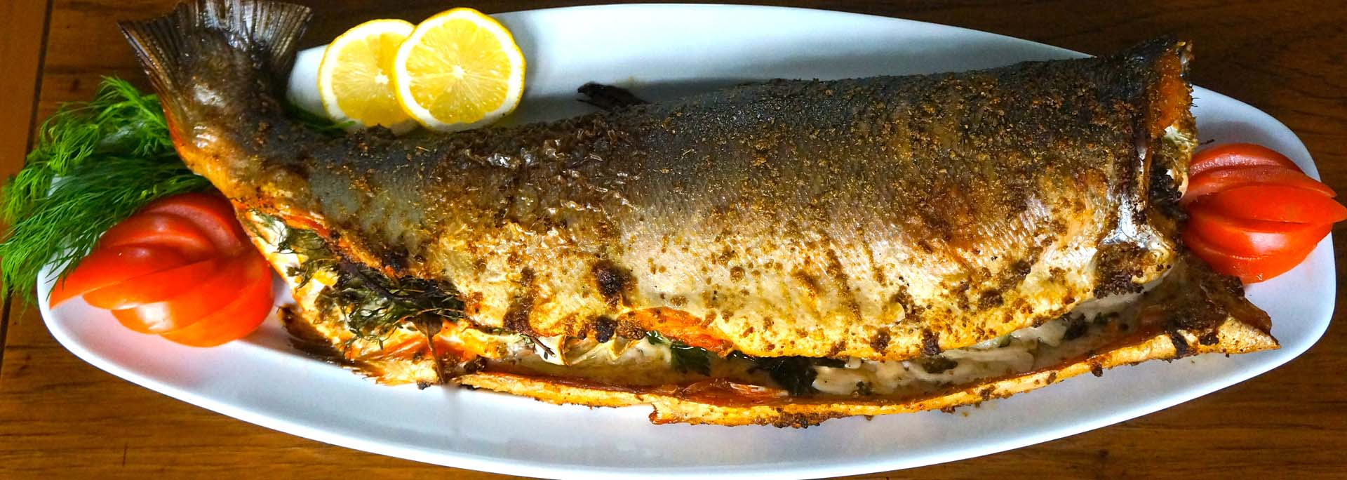 Herbed Roasted Salmon