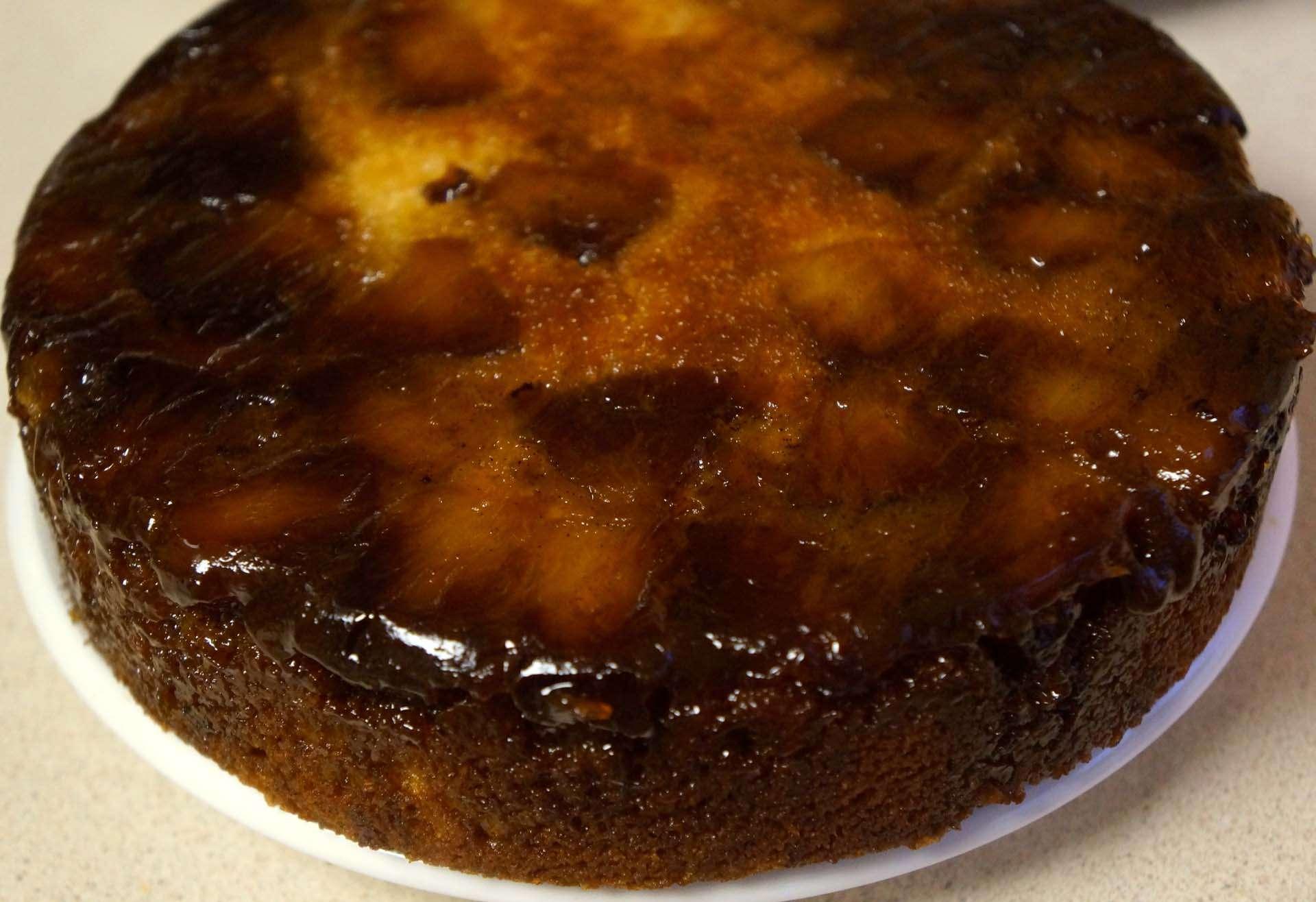 Gemma's Pineapple Upside-Down Cake
