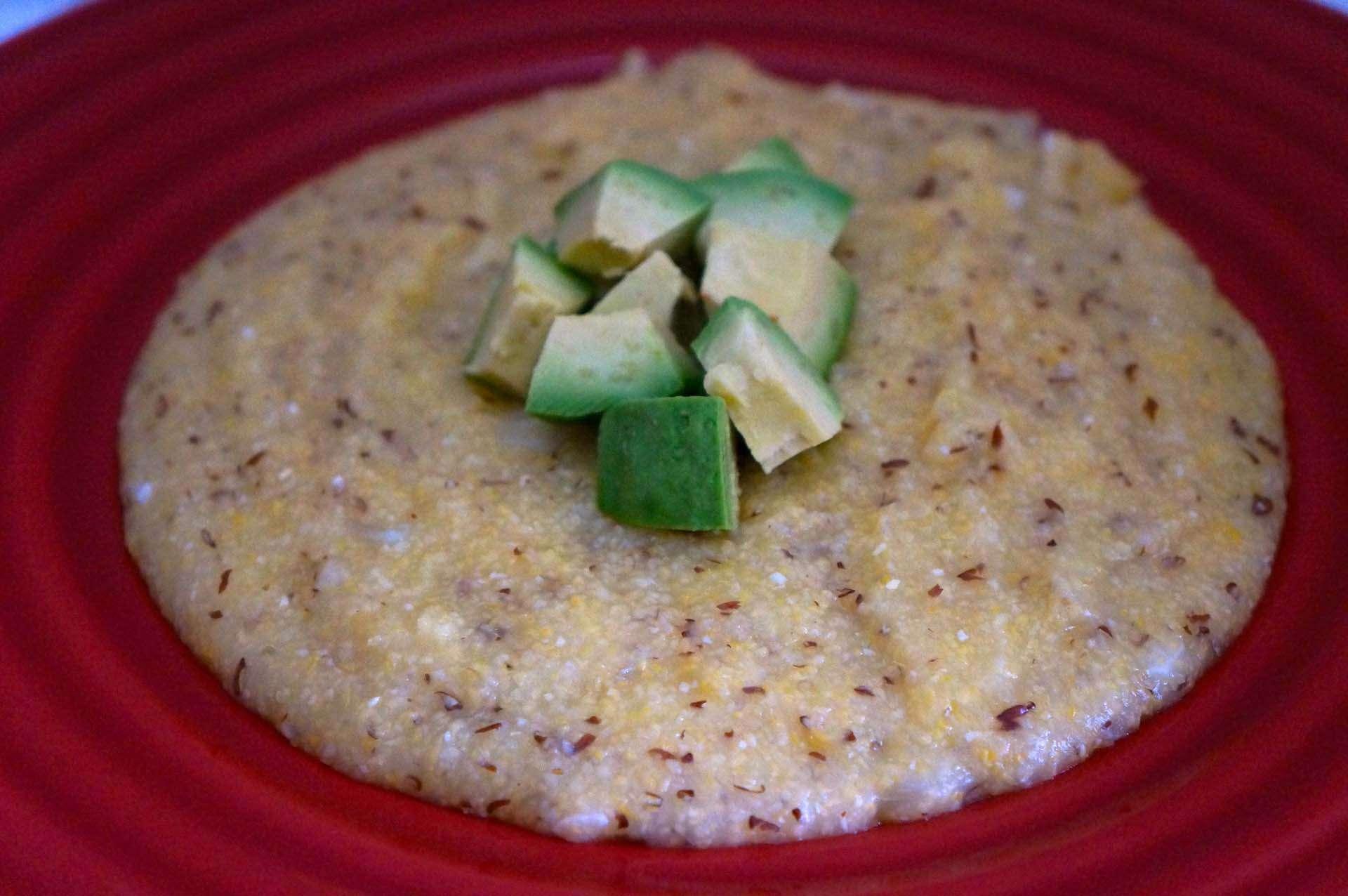 Polenta with Flaxseed