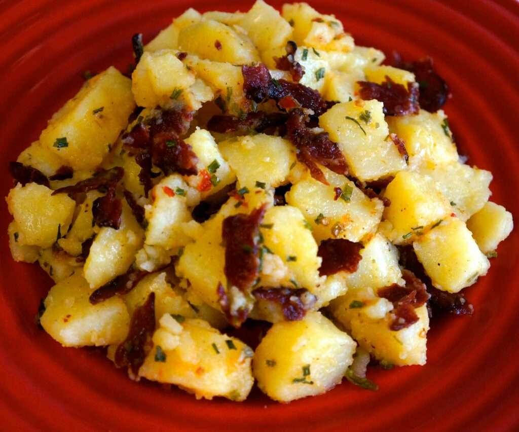 Potato Salad with Turkey Bacon