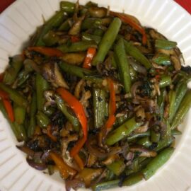 Sautéed String Beans with Shiitake Mushroom