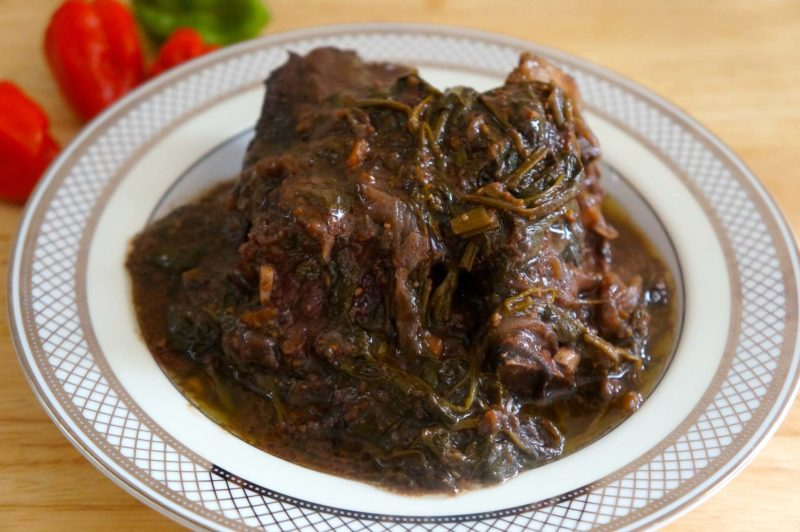 Short Ribs with Mixed Greens