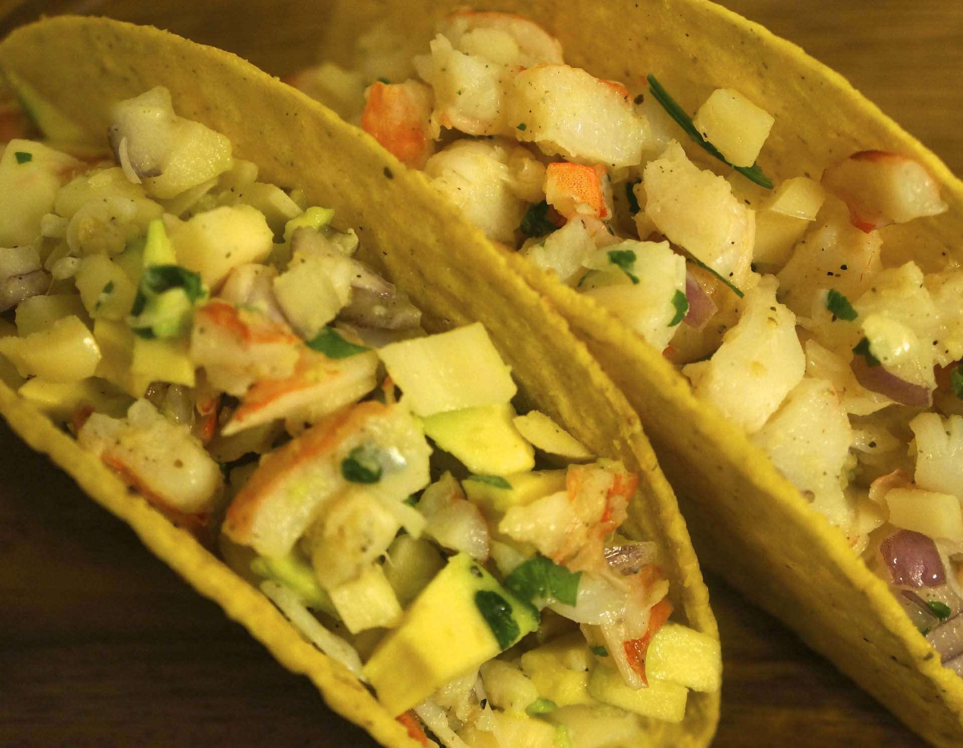 Taco Shrimp Salad