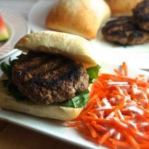 tasty juicy beef burger