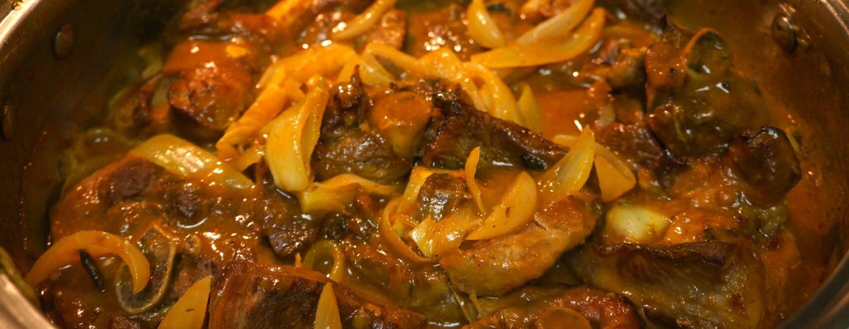 Turkey in Creole Sauce