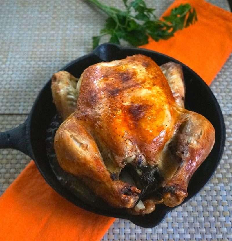 Basic Whole Roasted Chicken