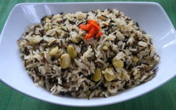 Rice Medley (white rice mixed with wild rice) - caribbeangreenliving.com