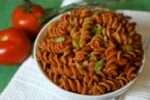 Whole Wheat Rotini Pasta with Spicy Marinara Sauce