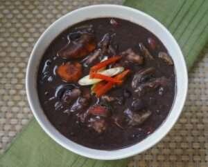 Black Beans Soup