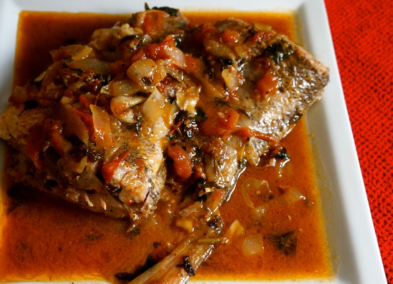Poisson Creole or Creole Fish - caribbeangreenliving.com