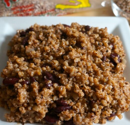 Millet with Red Kidney Beans - caribbeangreenliving.com