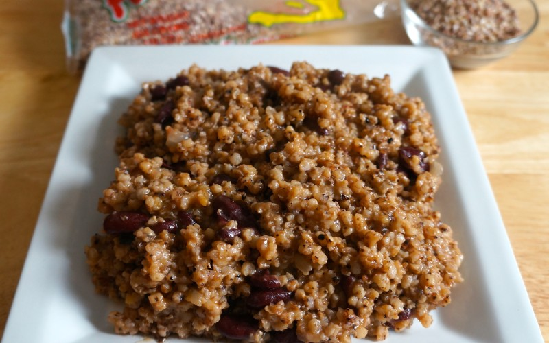 Millet with Red Kidney Beans (Pitimi ak pois rouge)