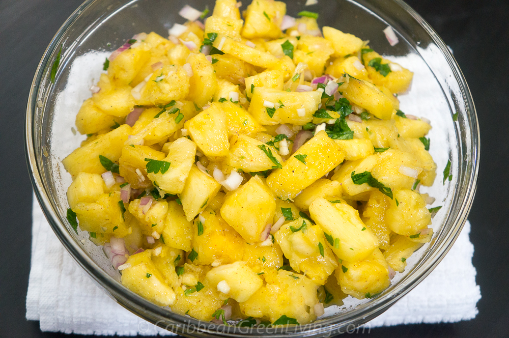 Hot and Spicy Pineapple