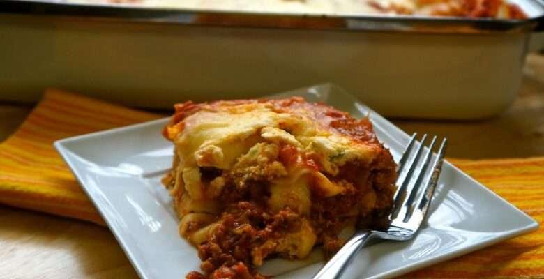 Ground Turkey Lasagna - caribbeangreenliving.com