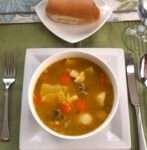 Soup Joumou (Soupe de Giraumon or Pumpkin Soup) - caribbeangreenliving.com