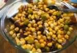 Quick Chickpeas (Garbanzo Beans) Salad