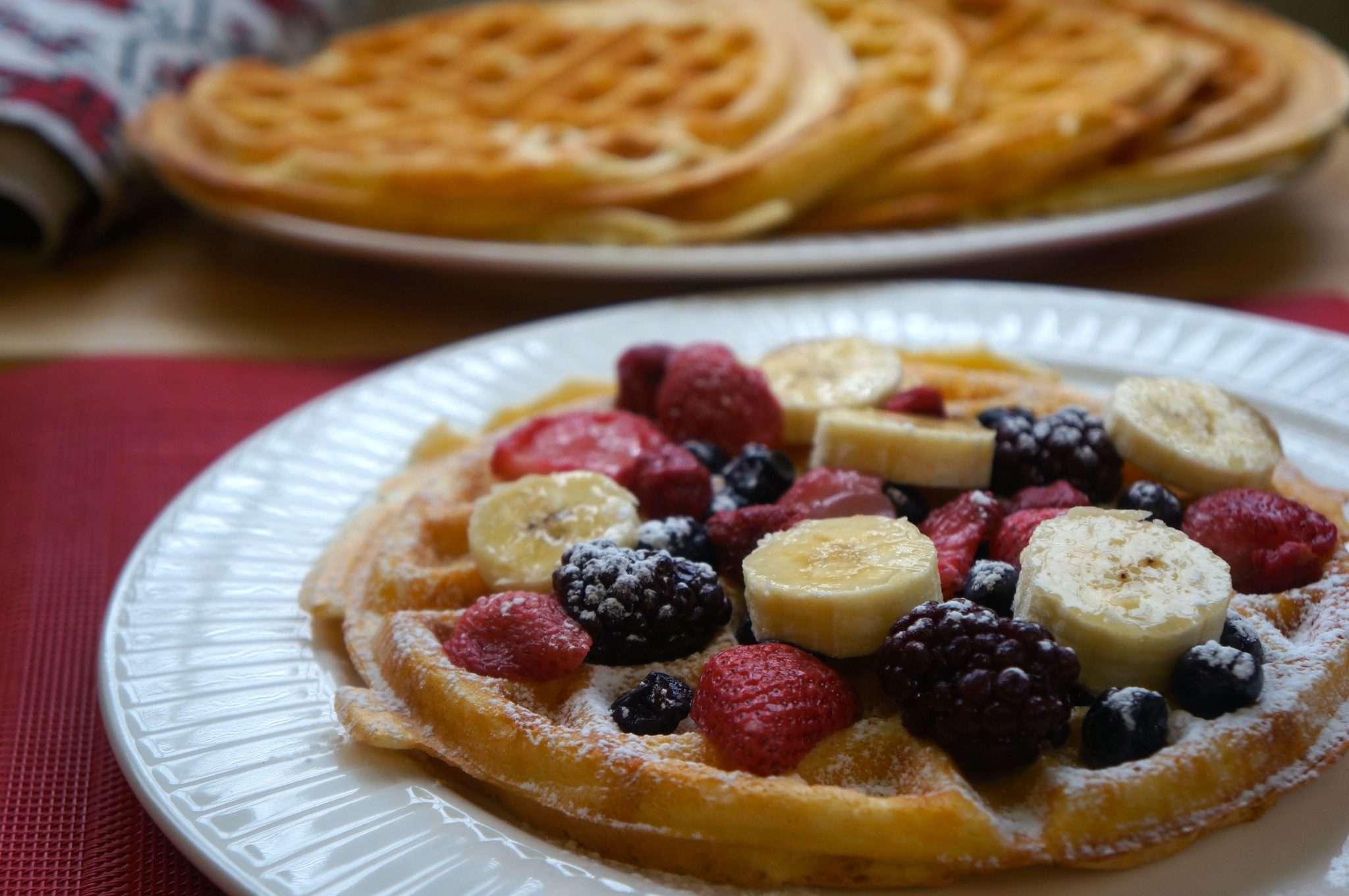 tapioca flour waffles - caribbeangreenliving.com