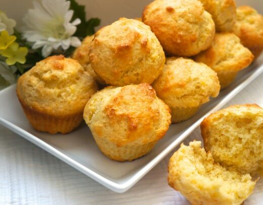Orange Almond Muffins - caribbeangreenliving.com