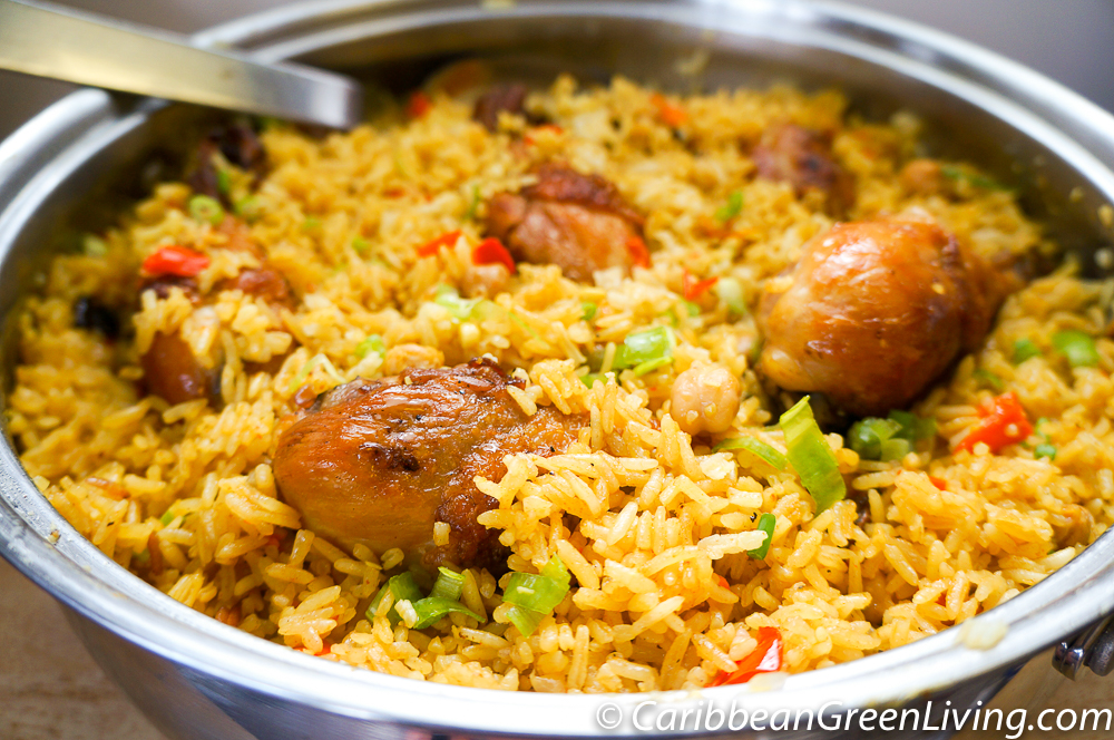 Rice with Chicken and Chickpeas 3