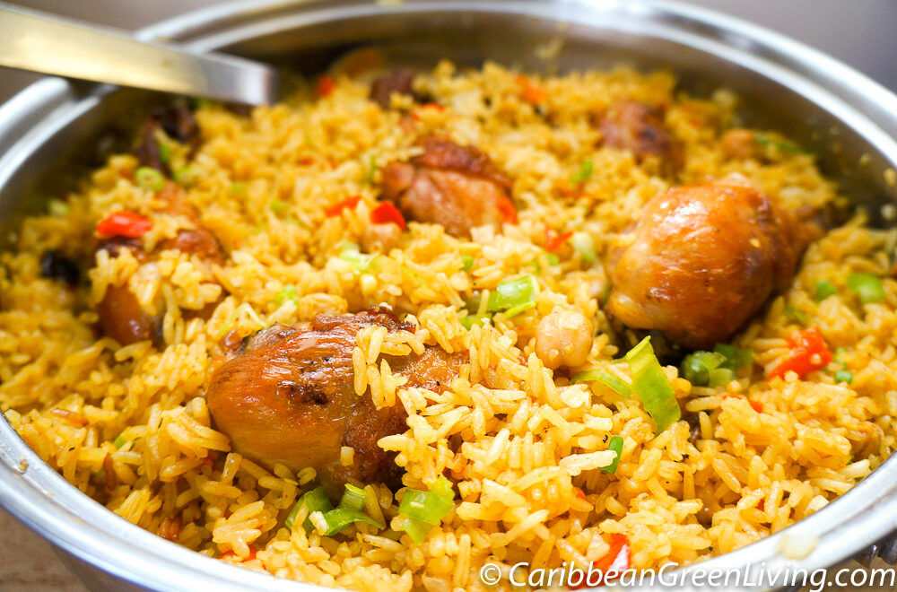 Rice with Chicken and Chickpeas