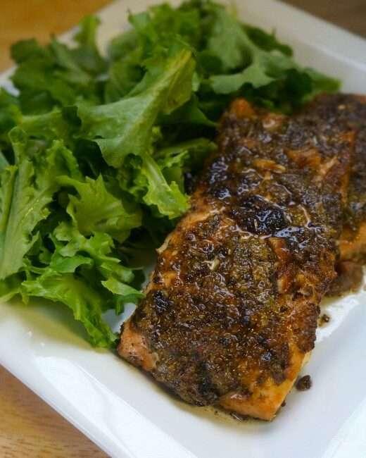 Spicy Roasted Salmon, salmon, fresh salmon, wild caught salmon, salmon health benefits, cooking salmon