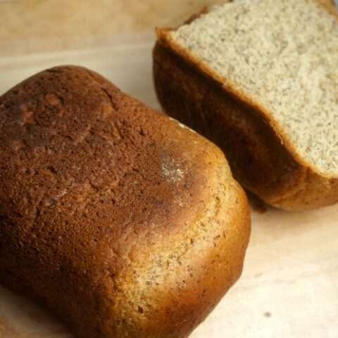 Quick Honey Flaxseed Bread