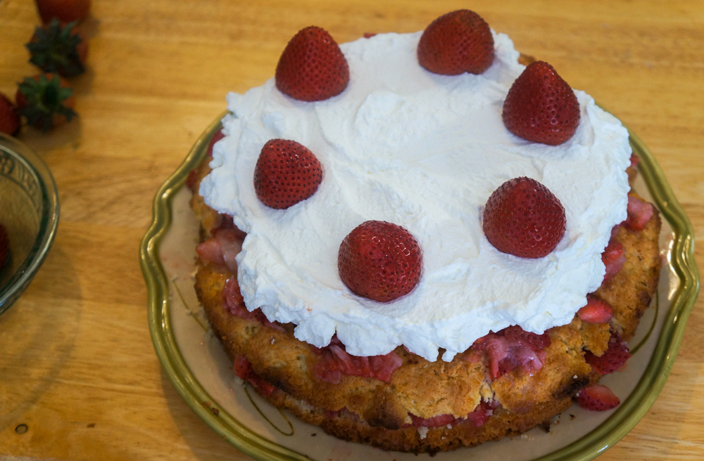 Old Fashion Strawberry Shortcake