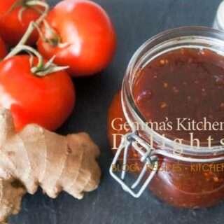 Tomato and Ginger Chutney