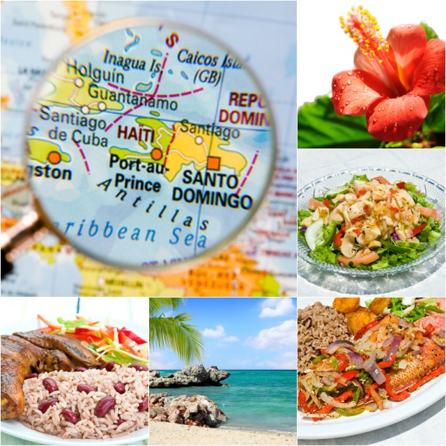 National dishes of the Caribbean Islands
