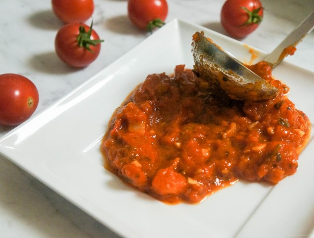 Most Flavorful Chunky Tomato Sauce