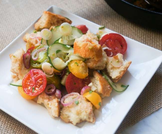 bread salad or stuffing