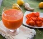 Papaya Lemonade Juice e1443154129824