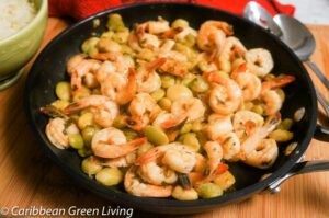 Shrimps with Honey and Ginger