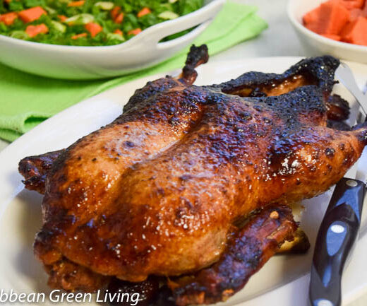 Hoisin-Roasted Duck - caribbeangreenliving.com