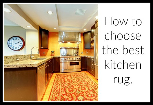 How to choose the best kitchen rug