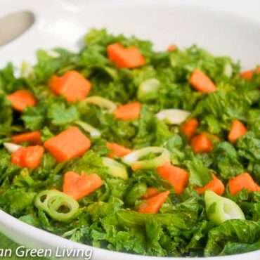 Kale and Sweet Potato Salad